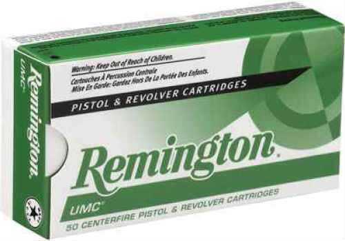 Remington UMc 9MM 124 Grain Mc 50 Rds Ammunition L9MM2