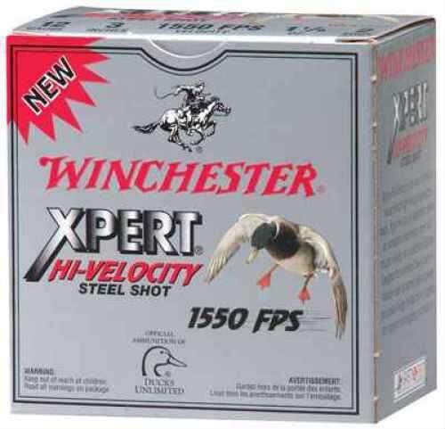 "Winchester 12 Gauge XPert Hi-Veloctiy 3 1/2"" 1 3/8 Oz #2 Steel Shot 25 Rounds Per Box Ammunition Case Price 250 Rounds"