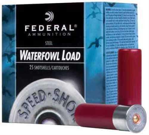 Federal Speed Shok 12Ga 2 3/4 1 1/8Oz 2 Steel 25 Rds Ammunition WF1472