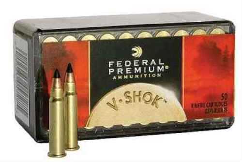 Federal 17 HMR Premium V-Shok 17 Grain Hornady V Max Ammunition Md: P771