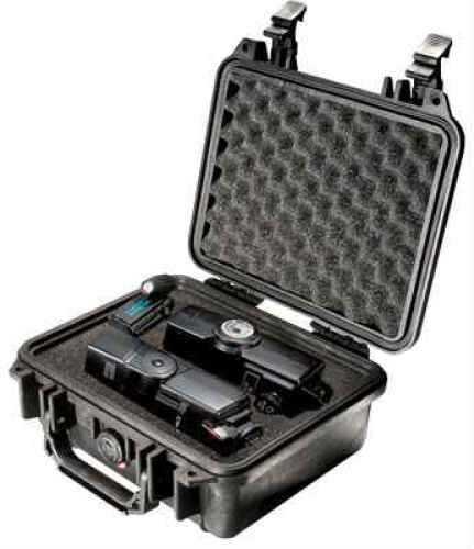 """Pelican 1200 Protector Small Case Polypropylene Black 10.6"""" x 9.68"""" x 4.87"""" (Exterior)"""