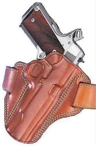 Galco Combat Master Belt Holster Right Hand Black Glock 17 Leather Cm224B