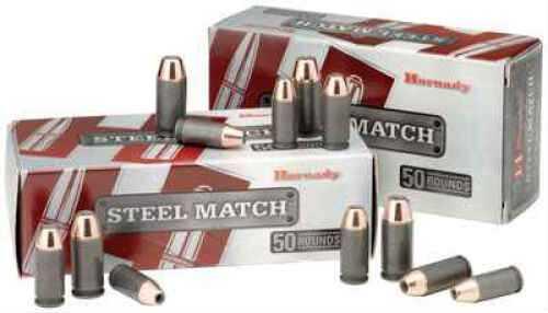 9mm Luger By Hornady 125 Grain Hap Steel Match/50 Md: 90275 Ammunition
