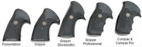 Pachmayr 05056 Gripper Decelerator Pistol Grip S&W N Frame Square Butt Black