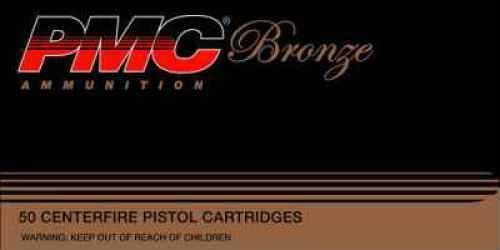 PMC Ammunition Bronze 38SPL 132Gr FMJ 50 Rds Ammunition 38G