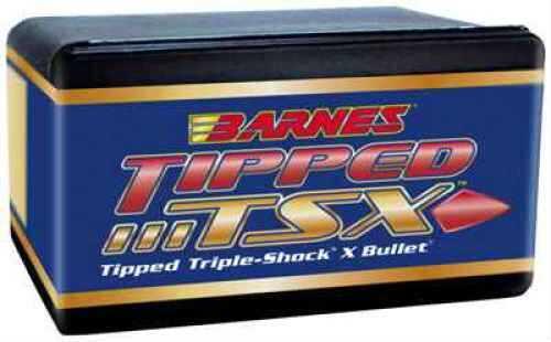 Barnes Bullets 30368 Tipped TSX 30 Caliber 308 165 GR Tipped TSX Boat Tail 50 Per Box
