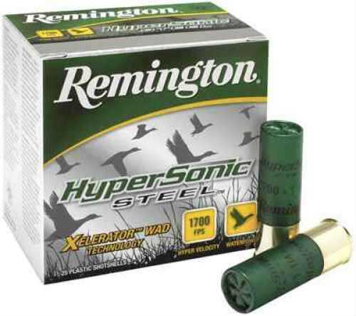 Remington Hypersonic Steel 20 Gauge 3'' 7/8Oz #4 25/Bx