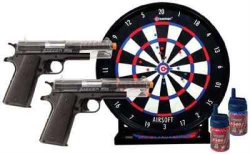 Crosman ASP311CDK Stinger Challenge Kit 2 Pistol w/Trgt 500 Rd+500 Blue BBs