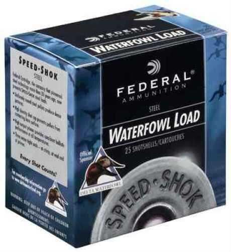 "Federal Speed-Shok Waterfowl 10 Gauge 3.5"" 1.5 Oz Bbb Shot 250 Rounds"