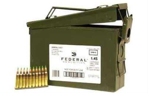 Federal 5.56 Nato 62 Grain Penetrators LC 420Rd Can 10Rd Stripper Clipped