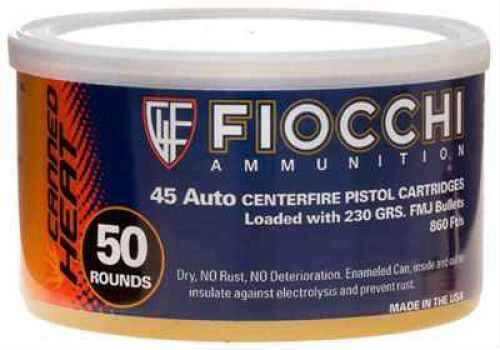 45 ACP 230 Grains FMJ Canned (Per 50) Md: 45CA