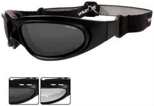 Wileyx 70 Sg-1 Smoke/clr /Mb Glasses