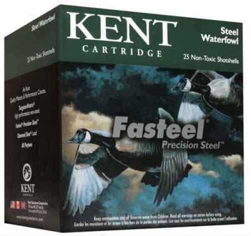 "Kent Cartridges K1235St443 FaSteel 3.5"" 12 Ga 3.5"" 1.6 Oz 3 Shot 250 Rounds Ammunition"