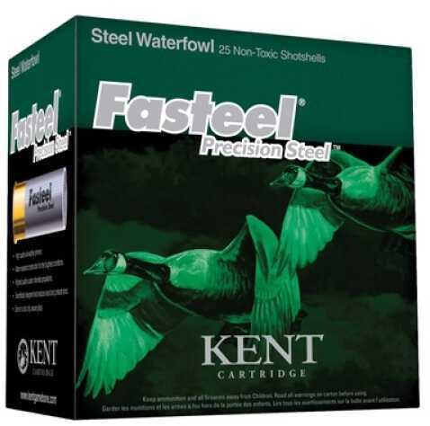 """Kent Cartridges K122St303 FaSteel 2.75"""" 12 Ga 2.75"""" 1.1 Oz 3 Shot Per 250 (Case Price)"""