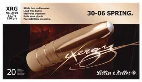 Sellier & Bellot 30-06 Springfield 180 Grain Exergy 20/Bx (20 rounds Per Box)