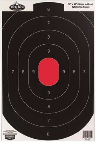 "Birchwood Casey Shoot-N-C Targets: Silhouette 12""X18"" Silhouette Target 8 Per Pack Md: 35608"
