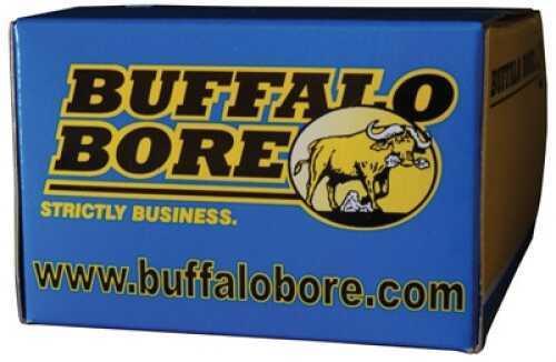 Buffalo Bore Ammunition 4E/20 Handgun 44 Rem Mag Hard Cast 255 Grain 20 Rds Per Box