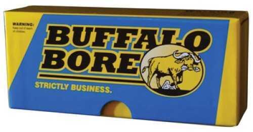 Buffalo Bore Ammunition 8B/20 Lever Gun 45-70 Government 405 GR Jacketed Flat Nose 20 Bx/ 12 Cs