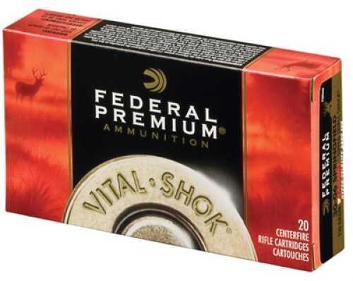 Federal Vital-shok 300 Weatherby Magnum Trophy Copper 180 Gr 3100 Fps 20 Rounds Ammunition