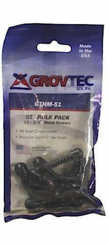 "GrovTec US 1/2"" Wood Screws, Package of 12 Md: GTHM60"