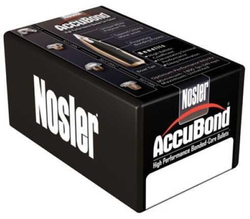 Nosler 54851 AccuBond 338 Caliber .338 300 GR Spitzer Point 50 Box