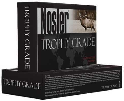 Nosler Trophy 375 H&H Mag 300 Grain Accubond 20Box Ammunition