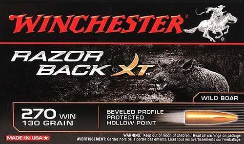 Winchester Razorback XT 270 130 Grain 20 Box