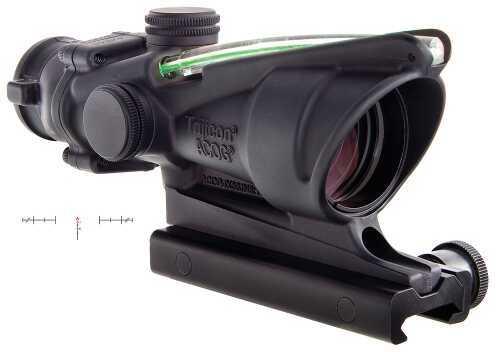 Trijicon Ta31Chg ACOG 4X32mm W/Ta51 Mnt Grn Crosshair 36.8ft@100yds FOV Black
