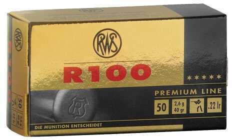 RWS 22 Long Rifle Ammo C-Class 40 Grain 50 Rounds Per Box 2134195