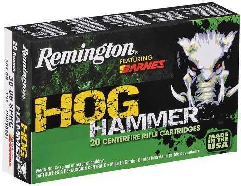 Remington Hog Hammer 30-06 168 Grain 20 Box