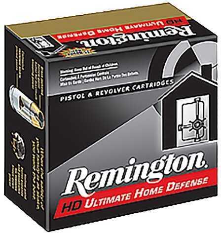 Remington Ammunition CHD40SWBN Compact 40 S&W Brass JHP 180 Grain 20Box/25Case