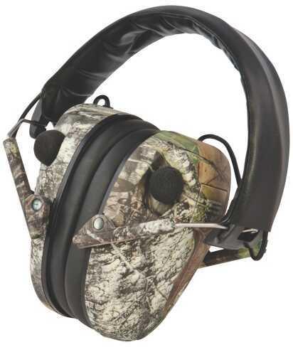 Cald 487-200 E-Max Hearing Pro M-Oak Elec. Muff 23 Db Camo 2AAA