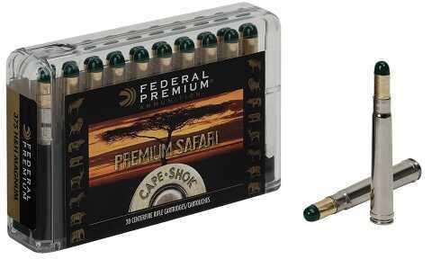 Federal P458LWH Premium Safari Cape-Shok 458 Lott 500 GR Woodleigh Hydro Solid (WHCS) 20 Box