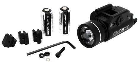 Streamlight 69260 TLR-1 HL Weapon Light 800 Lumens CR123A Lithium (2) Black