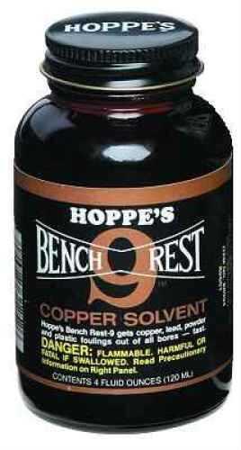 Hoppes Bench Rest-9 Copper Solvent 4 Oz Md: Br904