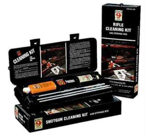 Hoppes Gun Cleaning Kit W/Aluminum Rod 30, 30-06, 30-30, 303, 308, 32, 8mm Caliber Md: U30B