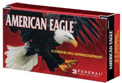 Federal Cartridge 6.5 Creedmoor, 140 Grains, Open Tip Match, Per 20 Md: AE65CRD1