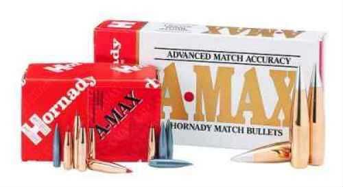 Hornady 22 Caliber Bullets .224 75  Grain A-Max Per 100 Md: 22792