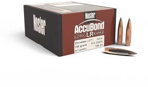 Nosler 270 Caliber AccuBond Long Range, 150 Gr SP