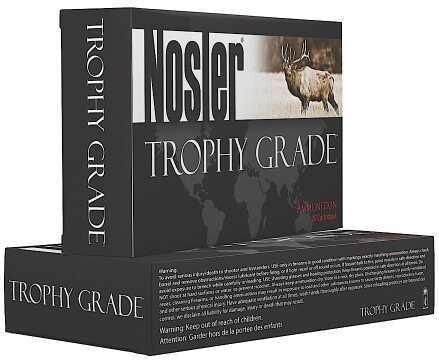 Nolser Custom Trophy Grade 9.3X62mm Accubond 250 Grain 20 Round Ammunition