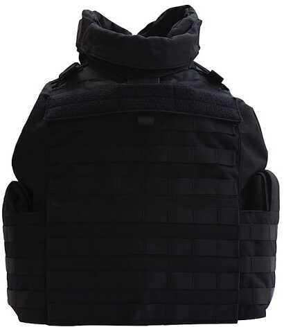 T ACP ROGEAR Vest Safety Tactical Black Large Cordura Nylon