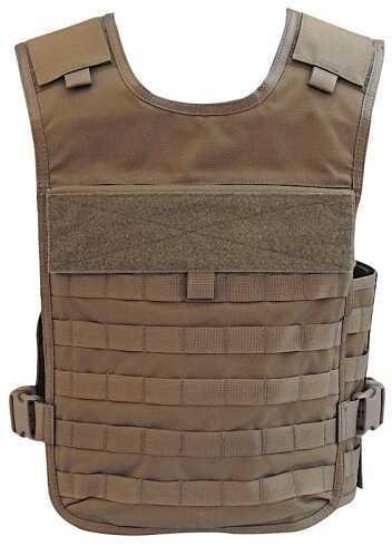 T ACP ROGEAR Vest Low Profile Khaki X-Large Cordura Nylon