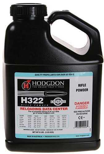 Hodgdon Powder H322 Smokeless 8 Lb