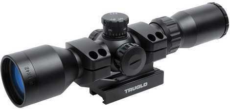TrugloTG SCP TAC 3-9X42 30MM IR Mil Black