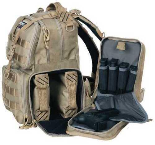 Tactical Range Backpack Tan Md: GPS-T1612BPT