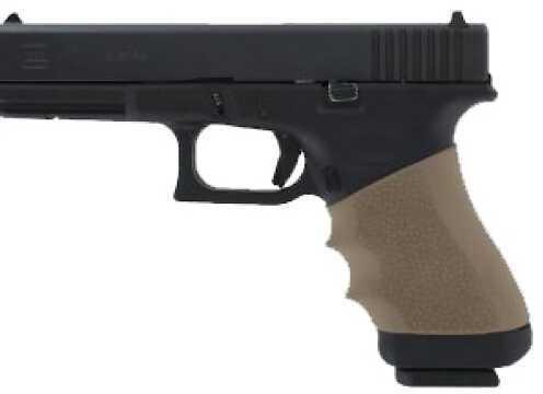 Hogue Grips HandAll Universal Grip Full Size Sleeve Fits Many Full Size Semi Auto Handguns Flat Dark Earth 17003