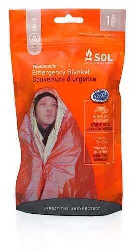 Adventure Medical Kits 01401222 Emergency Blanket One Person Orange