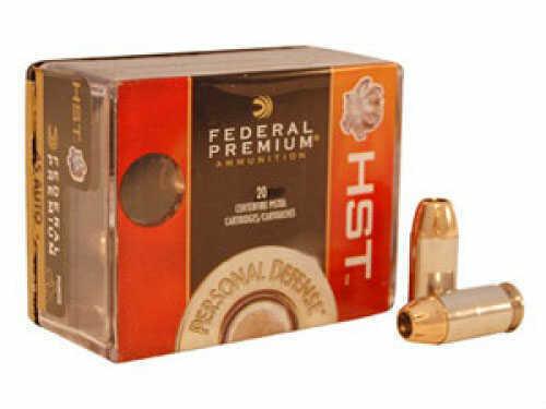 Federal Cartridge 45 Automatic 230 Grain Hst JHP (Per 20) Md: P45Hst2S