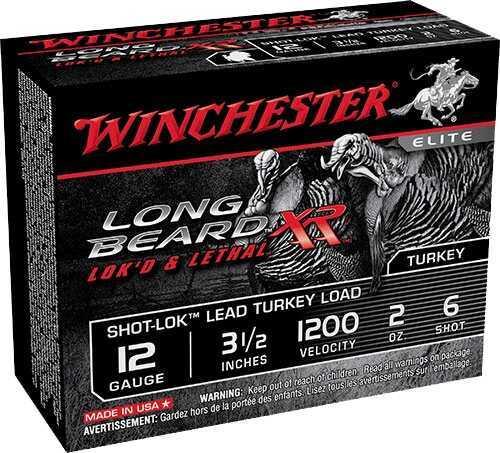 Winchester Long Beard XR 12 Gauge 3-1/2'' 2Oz #6 10/Bx (10 rounds Per Box)
