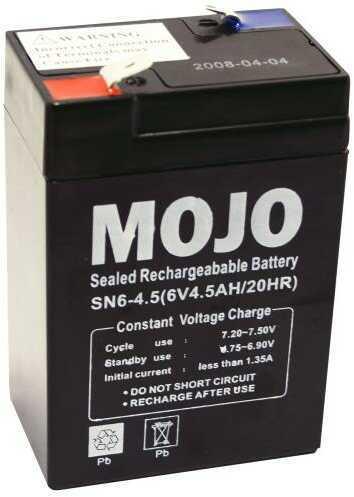 Mojo HW1013 UB645 Rechargeable Battery 6V Sealed Lead-acid Power Pack